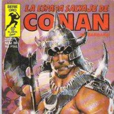 Cómics: LA ESPADA SALVAJE DE CONAN *** EL TIEMPO DEL TIGRE ** NUM 39 EX. Lote 11306101