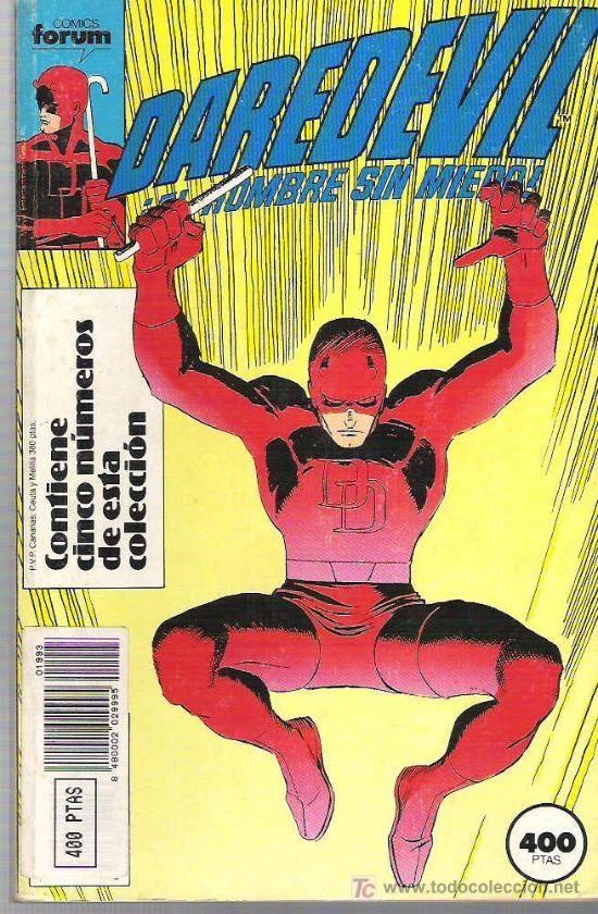 DAREDEVIL - EL HOMBRE SIN MIEDO ** CINCO NUMEROS ** 16 AL 20 VOL 2 (Tebeos y Comics - Forum - Daredevil)