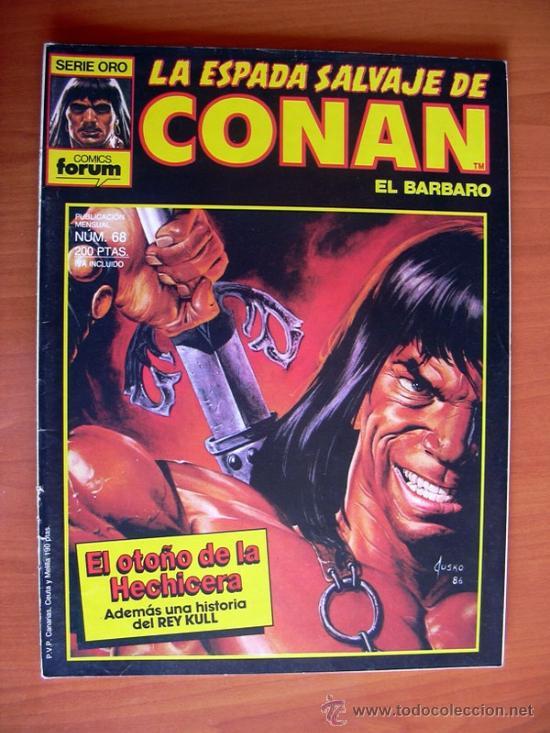 LA ESPADA SALVAJE DE CONAN, Nº 68 (Tebeos y Comics - Forum - Conan)