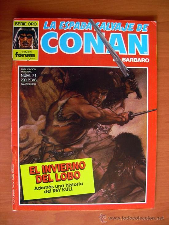 LA ESPADA SALVAJE DE CONAN, Nº 71 (Tebeos y Comics - Forum - Conan)