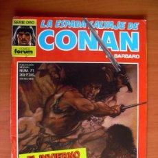 Cómics: LA ESPADA SALVAJE DE CONAN, Nº 71. Lote 10155383