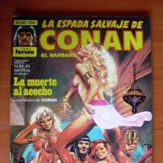 Cómics: LA ESPADA SALVAJE DE CONAN, Nº 81. Lote 10156008