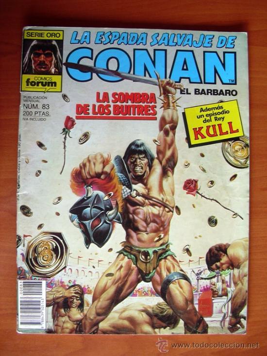 LA ESPADA SALVAJE DE CONAN, Nº 83 (Tebeos y Comics - Forum - Conan)