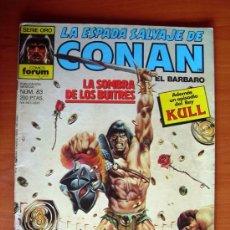 Cómics: LA ESPADA SALVAJE DE CONAN, Nº 83. Lote 10156037