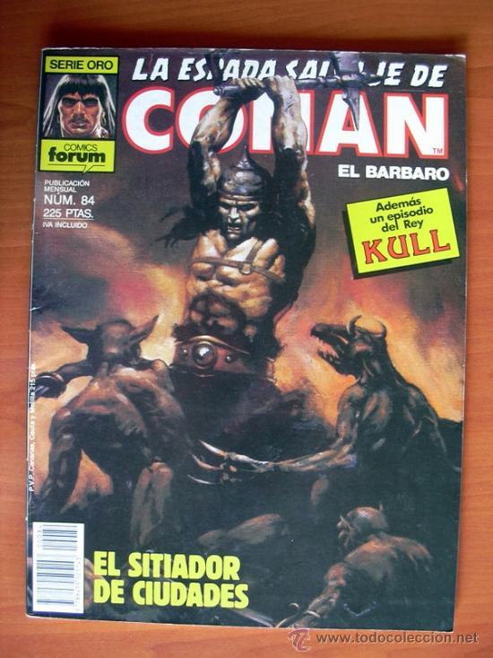 LA ESPADA SALVAJE DE CONAN, Nº 84 (Tebeos y Comics - Forum - Conan)