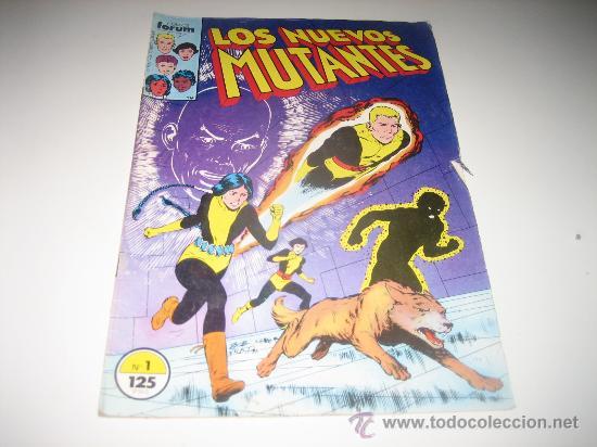 LOS NUEVOS MUTANTES VOL.1 Nº 1 - FORUM (Tebeos y Comics - Forum - Nuevos Mutantes)