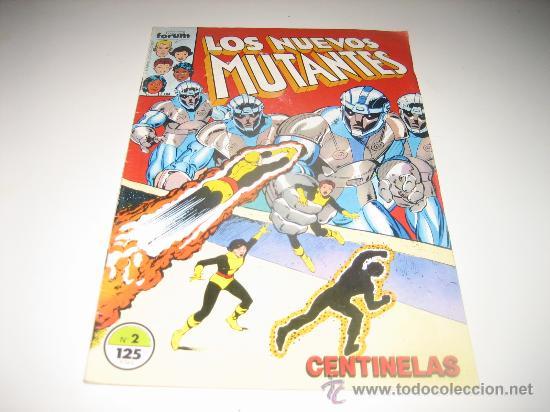 LOS NUEVOS MUTANTES VOL.1- Nº2 - FORUM (Tebeos y Comics - Forum - Nuevos Mutantes)