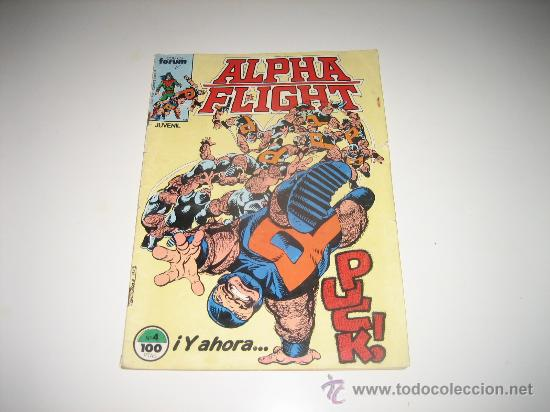 ALPHA FLIGHT-VOL 1-Nº 4 (Tebeos y Comics - Forum - Alpha Flight)