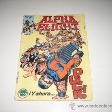 Cómics: ALPHA FLIGHT-VOL 1-Nº 4. Lote 26609062