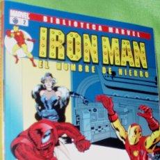 Cómics: BIBLIOTECA EXCELSIOR IRON MAN , Nº2. Lote 25643942