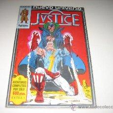 Cómics: JUSTICE - NUEVO UNIVERSO - RETAPADO - NºS 1 AL 6. Lote 25392474