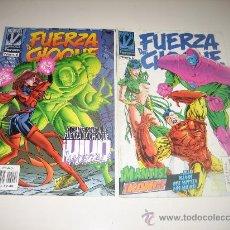 Cómics: FUERZA DE CHOQUE VOL.2 - Nº5 Y 6 - VENGADORES. Lote 27117819