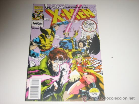 LAS NUEVAS AVENTURAS DE LOS X-MEN-Nº1 (Tebeos y Comics - Forum - X-Men)