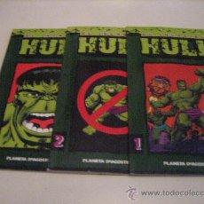 Cómics: EL INCREIBLE HULK-NºS-1-2 Y 4. Lote 25568649