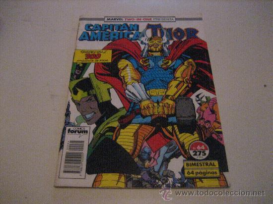 CAPITAN AMERICA -THOR-Nº64-FORUM (Tebeos y Comics - Forum - Capitán América)
