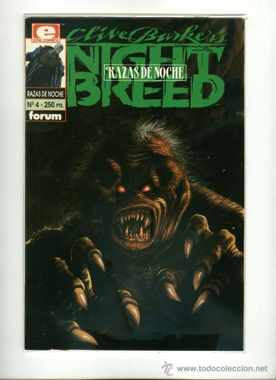 CLIVE BARKER´S - NIGHT BREED (RAZAS DE NOCHE) Nº4 (Tebeos y Comics - Forum - Otros Forum)