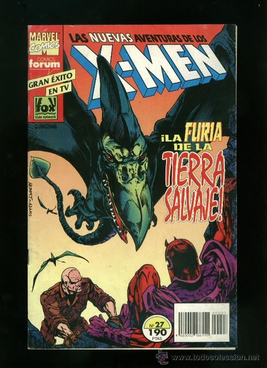 X-MEN Nº 27 - LA FURIA DE LA TIERRA SALVAJE (Tebeos y Comics - Forum - Furia)