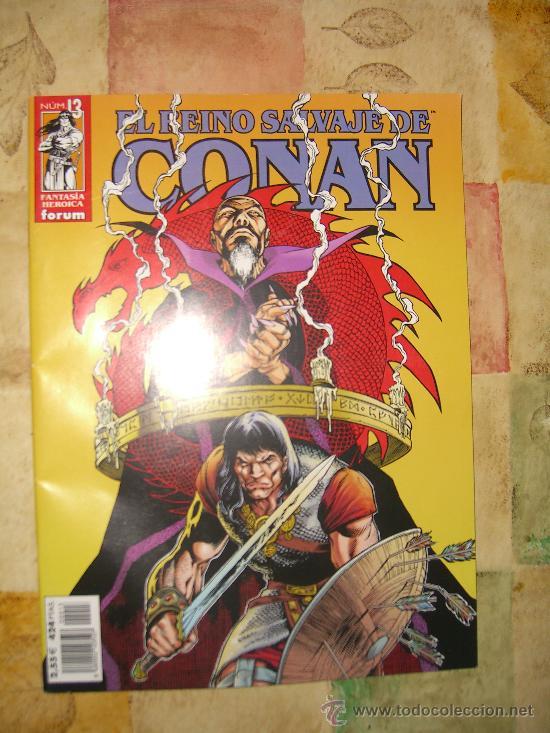 EL REINO SALVAJE DE CONAN. NUMERO 13. NUEVO CJ 27 (Tebeos y Comics - Forum - Conan)