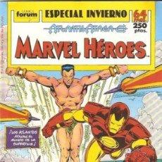 Cómics: MARVEL HEROES, ESPECIAL INVIERNO,1989, ED. FORUM. Lote 18497297