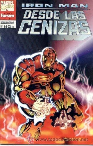 IRON MAN : DESDE LAS CENIZAS Nº 1 (Tebeos y Comics - Forum - Iron Man)