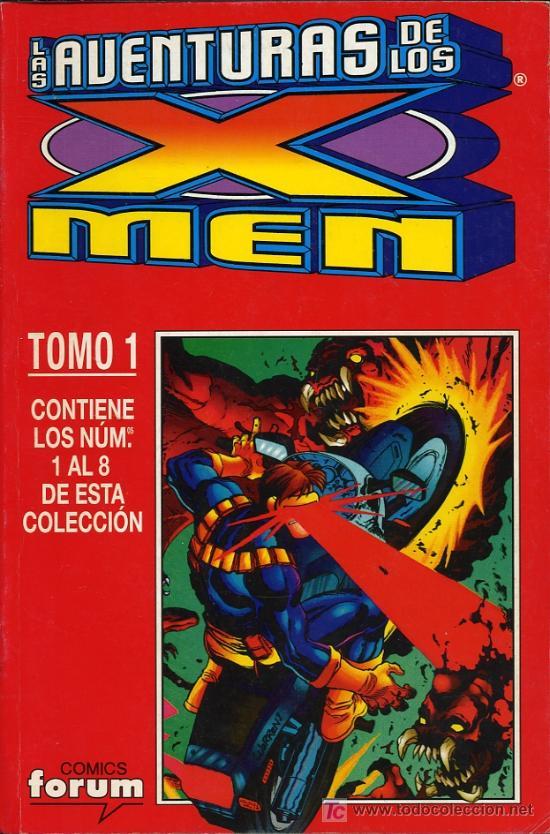 LAS AVENTURAS DE LOS X MEN - TOMO 1. CONTIENE LOS NOS 1 AL 8 - 1997 (Tebeos y Comics - Forum - X-Men)