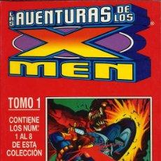 Cómics: LAS AVENTURAS DE LOS X MEN - TOMO 1. CONTIENE LOS NOS 1 AL 8 - 1997. Lote 11018394