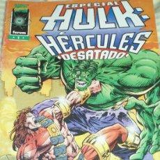 Cómics: HULK & HERCULES: ESPECIAL DESATADO. Lote 25986240