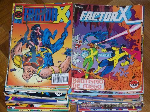FACTOR X COMPLETA 94 Nº+ 3 ESPECIALES (Tebeos y Comics - Forum - Factor X)