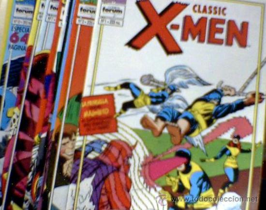 CLASSIC X-MEN FORUM COMPLETA (Tebeos y Comics - Forum - X-Men)