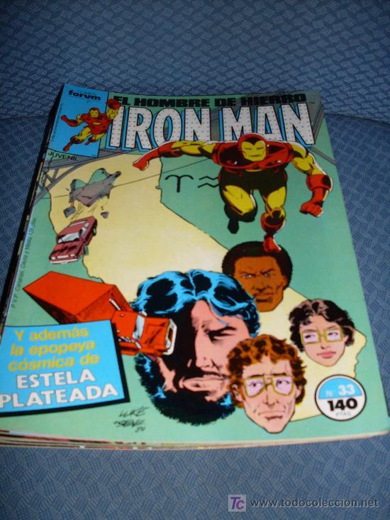 FORUM IRON MAN NUMERO 33 BUEN ESTADO (Tebeos y Comics - Forum - Iron Man)
