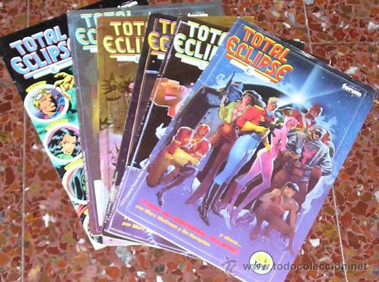 TOTAL ECLIPSE. COLECCIÓN COMPLETA 6 Nº (Tebeos y Comics - Forum - Otros Forum)