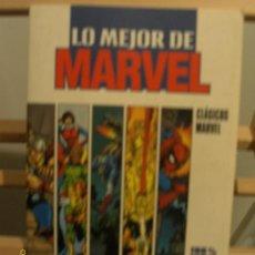 Cómics: LO MEJOR DE MARVEL. Lote 26831520