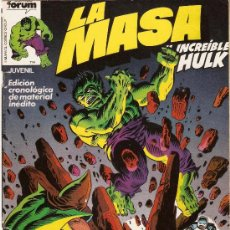 Cómics: LA MASA - EL INCREIBLE HULK - VOL 1 - Nº 7 - DIBUJOS DE SAL BUSCEMA. Lote 151681320