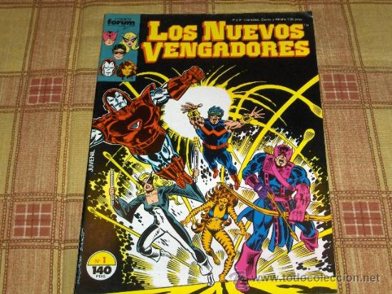 FORUM VOL. 1 LOS NUEVOS VENGADORES Nº 1. 1987. 140 PTS. REGALO Nº 29. (Tebeos y Comics - Forum - Vengadores)