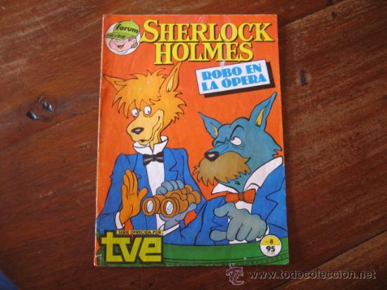 SHERLOCK HOLMES ROBO EN LA OPERA (Tebeos y Comics - Forum - Otros Forum)
