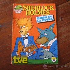 Cómics: SHERLOCK HOLMES ROBO EN LA OPERA. Lote 12479984