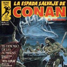Cómics: CONAN Nº22 (PLANETA,1982). Lote 12497492