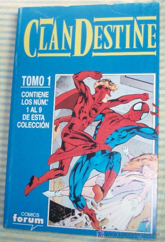 CLANDESTINE-TOMO COLECCIÓN COMPLETA ( NºS DEL 1 AL 9) ALAN DAVIS (Tebeos y Comics - Forum - Prestiges y Tomos)