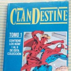 Cómics: CLANDESTINE-TOMO COLECCIÓN COMPLETA ( NºS DEL 1 AL 9) ALAN DAVIS . Lote 27026384