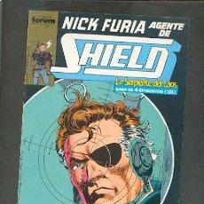 Cómics: NICK FURIA AGENTE DE SHIELD Nº 9,ED.FORUM. Lote 12654746