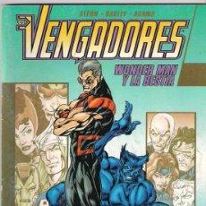 Vengadores . Wonder man y la Bestia