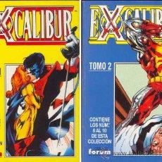 Cómics: EXCALIBUR VOLUMEN II NUMEROS 1 AL 10 EN DOS RETAPADOS. Lote 148173196