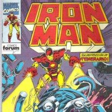 Cómics: IRON MAN - LA DETRUCION DE TEMERARIO *** Nº12. Lote 13372870
