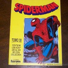 Cómics: SPIDERMAN - TOMO 30 - NºS 226 AL 230. Lote 26312445