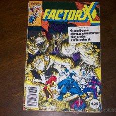 Comics : FACTOR X - RETAPADO - NºS 36 AL 40. Lote 26312451
