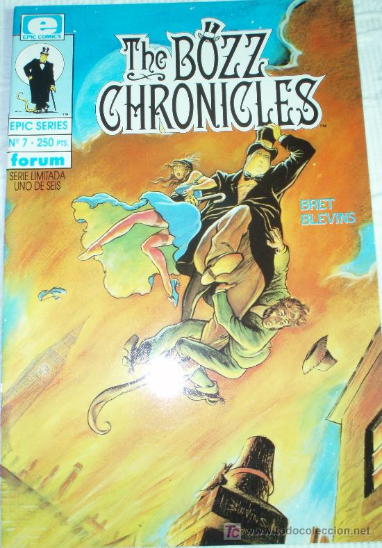 EPIC SERIES Nº 7 : THE BOZZ CHRONICLES (Tebeos y Comics - Forum - Otros Forum)