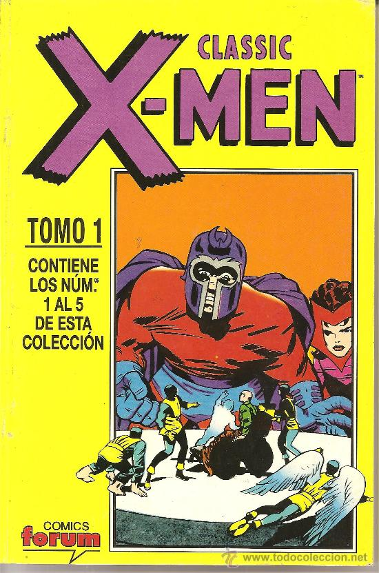CLASSIC X-MEN TOMO 1 NUMEROS DEL 1 AL 5 (Tebeos y Comics - Forum - X-Men)