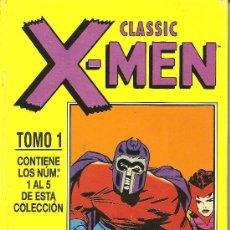 Cómics: CLASSIC X-MEN TOMO 1 NUMEROS DEL 1 AL 5. Lote 26928045