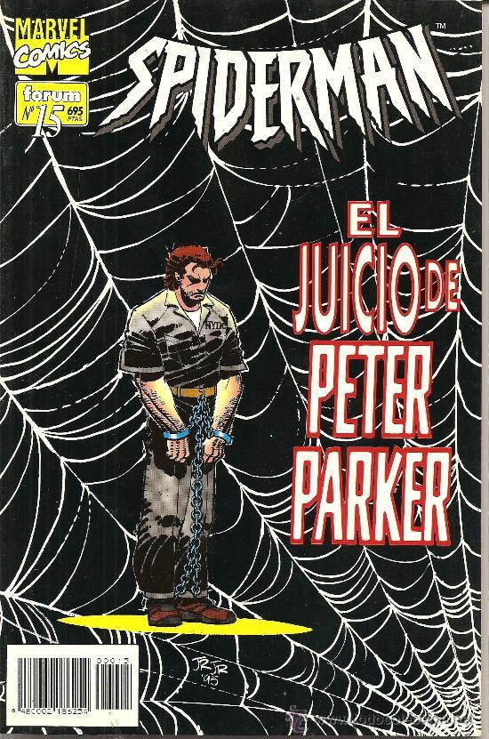 SPIDERMAN Vº 2 Nº 15 FORUN (Tebeos y Comics - Forum - Spiderman)