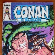 Cómics: CONAN EL BARBARO Nº 58 - EDICIONES FORUM 1983. Lote 13763955